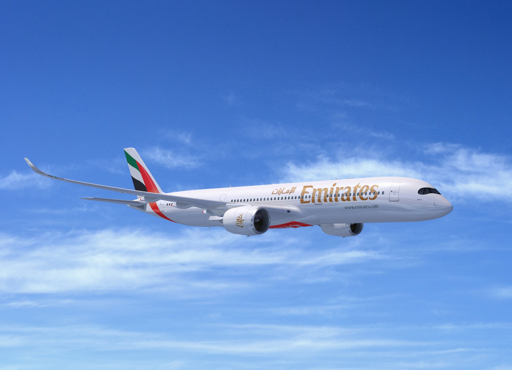 Emirates Airbus A350 A359